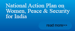 National Action Plan on Women, Peace & Security for India