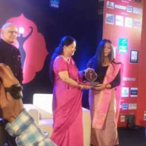 Binalakshmi Nepram Honored with Devi Awards 2014