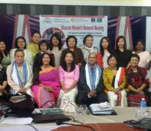 Mizoram Women Network Meeting held 27 and 28th May 2015