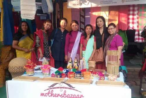 Northeast India Women Economic Empowerment at Work - Glimpses from Women of India Exhibition organised by Ministry of Women & Child that ended today 23 November at iconic Dilli Haat.