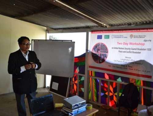 Ms Premlata giving legal knoledge on women schemes