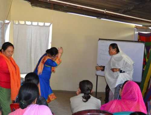 Role Play performed by participants