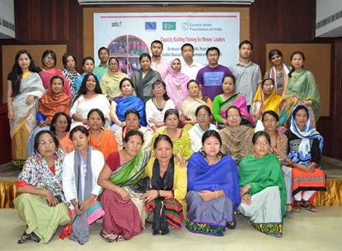 Capacity Building Training for Women Leaders on Women Rights and Human Rights, Peace Process, Conflict Resolution and Awareness on UNSCR 1325 - 29th&30th March 2016, Hotel Classic, Imphal, Manipur