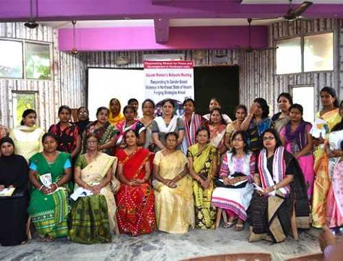 Assam Women's Network Meeting- Responding to Gender Based Violence in Northeast State of Assam: Forging Strategies Ahead, Held on 27 April 2016, Guwahati, Assam