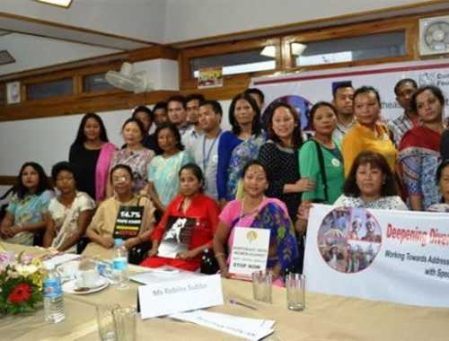 Working Towards Mitigating Racial Discrimination &Gender Based Violence with Focus on Sexual Violence in Conflict Areas of Meghalaya at Conference Hall, Yalana Hotel Main Road, Laitumkhrah, Shillong, Meghalaya on 29th April 2016
