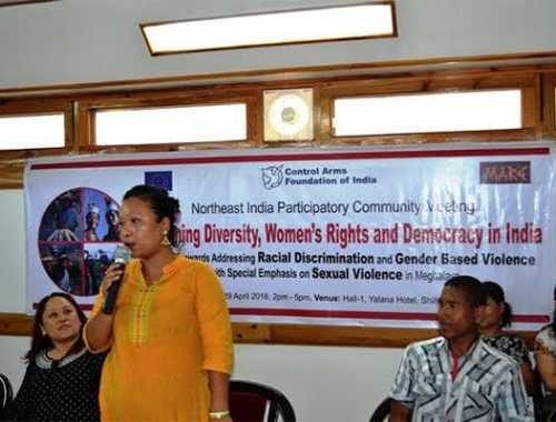 Statement from Jaynie N Sangma issues on women in Conflict at Garo Hills, Meghalaya