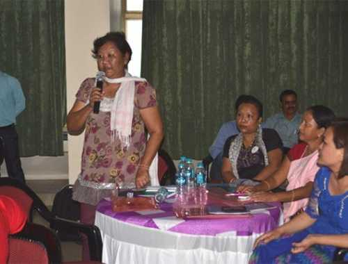 Women from different Northeastern states participated and shared their experiences and thought on racial discrimination and gender based violence