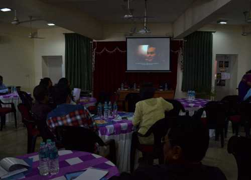 """A film on racial discrimination namely """"The Internal Others"""" was screened during meeting"""