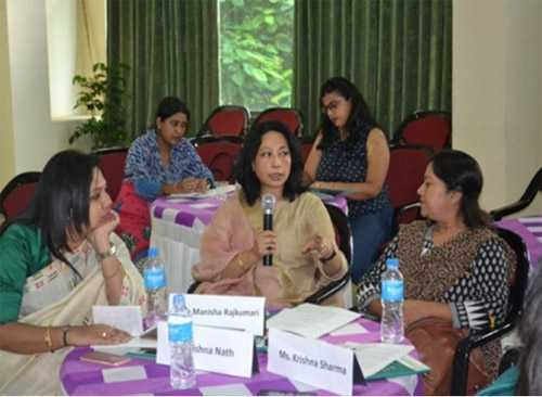 Women from different organizations came together in state of Assam