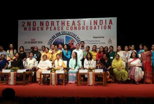 2nd Northeast India Women Peace Congregation 2016, Guwahati, Assam.