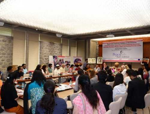 "Round Table Conference on ""Developing Citizen's Action Plan Towards Deepening Democracy, Disarming, Investing in Women's Rights and Ensuring Diversity in India held on 22nd September 2016 at United Nations, New Delhi"
