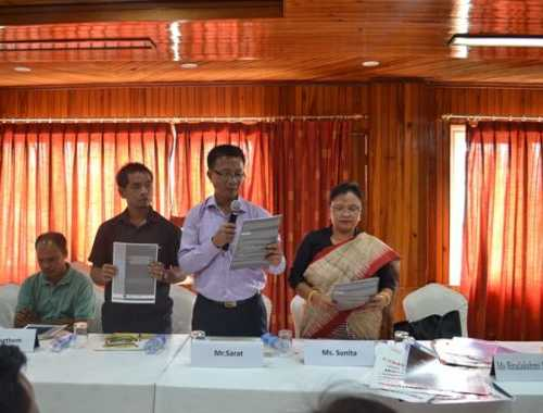 Released of CAFI Briefing  paper on Bezbaruah Committee Report to look into Racial Discrimination of People from North India