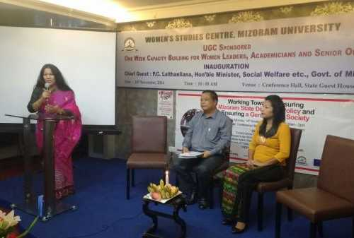 Working Towards Ensuring Mizoram State Diversity Policy and Ensuring a Gender Just Society - Conference Hall, Hotel Regency, Aizawl, Mizoram on 14th November 2016