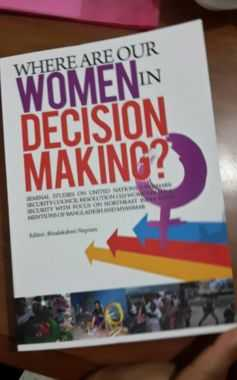 Book Cover of Where are our Women in Decision Making?
