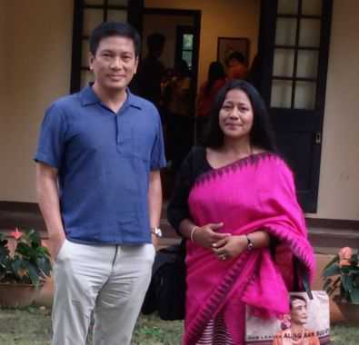 Binalakshmi Nepram Meets Former United Nations Secretary General's Grandson Dr Thant Myint-U in Yangon