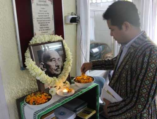 30 january 2017: On the Occasion of The 69th YEAR OF MARTYRDOM OF MAHATMA GANDHI - CAFI TALK AND FILM SCREENING