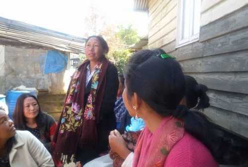 Group Formation Meeting - Towards Mitigating Racial Discrimination & Gender Based Violence with Focus on Sexual Violence in Conflict Areas of Manipur at Phungreitang East, Ukhrul