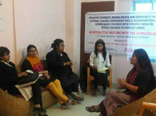 Participatory Community Meeting - Working Towards Mitigating Racial Discrimination & Gender Based Violence in Assam