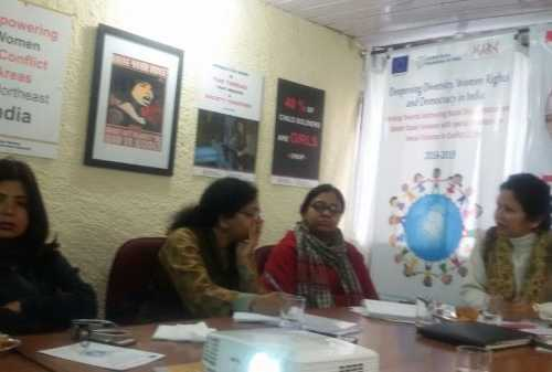 Participatory Community Meeting - Working Towards Mitigating Racial Discrimination & Gender Based Violence in Delhi – NCR