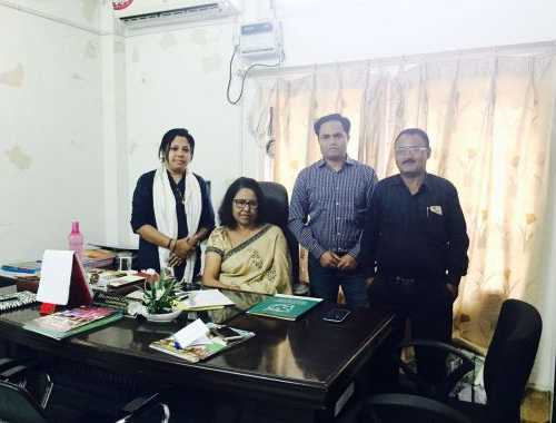 CAFI team with Chairperson of Assam State Commission for Child Protection after successful meeting.