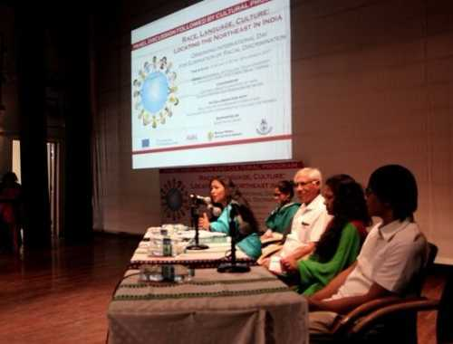 Race, Language, Culture: Locating the Northeast In India Observing International day for Elimination of Racial Discrimination on March 30, 2017 at Auditorium, IP College, Delhi University