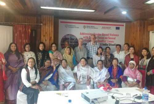 Addressing Gender Based Violence with Special Focus on Sexual Violence in Conflict Zones: Manipur, Northeast India Situation - May 4, 2017 at Siroy Conference Hall, Imphal Hotel