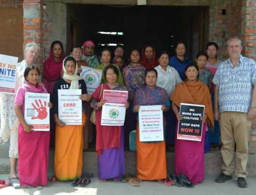 Women Group Formation in Yairipok Village, Manipur to address Poverty, Violence