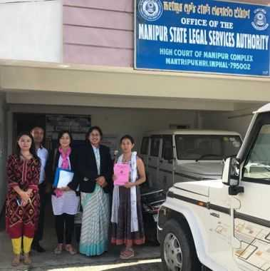 Advocacy Meeting with the Manipur State Legal Services Authority, Imphal Manipur September 22, 2017