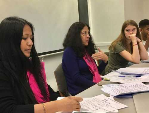 "8th November 2017 - A talk on ""Has the Multi-Billion Dollar Arms Trade Put Us All on the Firing Lane? Women for Disarmament, Peace, Security & Non Violence at Center for Humanistic Inquiry, Amherst College, Massachusetts, United States"