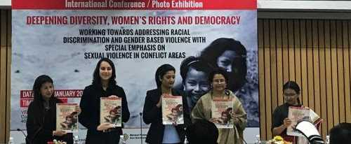 SEMINAL RESEARCH & WRITINGS successfully launched at our global convening on gender and race relations currently on for day 2 in New Delhi