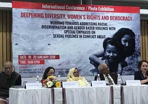 """Displacement, human rights abuse - increase in violence with militarization has led to the caging of women be it in Chad, Palestine, Northeast or J&K"" - Ellora Puri, Department of Political Science, University of Jammu speaks"
