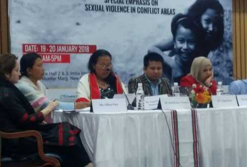 "Ms. Pantibonliu Gonmei from Rongmei Women's Organisation, talks about the tragic ""Situation of Sexual Violence in Manipur"""