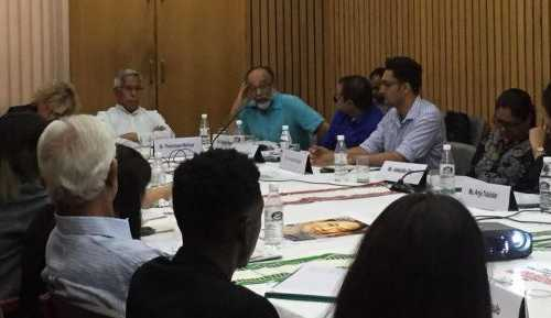 Participatory discussion on Diversity in India: Race Ethnicity and Culture at New Delhi