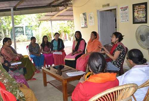 Participatory discussion on Diversity in India: Race Ethnicity and Culture at Manipur