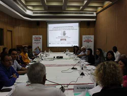 Participatory discussion on Diversity in India: Race Ethnicity and Culture at ​India International Centre, 40, Max Mueller Marg, New Delhi on March 21, 2018