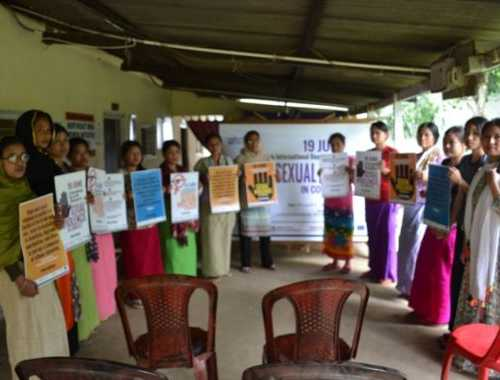 19 JUNE: International Day for the Elimination of Sexual Violence in Conflict successfully observed at MWGSN Office - 19 June 2018